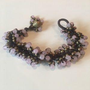 Jewelry - Pink Beaded Bracelet